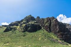 Cordillera de Waianae en Oahu del oeste, Hawaii imagen de archivo libre de regalías