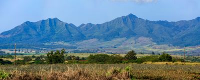 Cordillera de Waianae, Oahu del oeste, Hawaii fotos de archivo libres de regalías