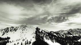 Cordillera de Wasatch en Park City, Utah fotos de archivo libres de regalías