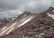 Cordillera en el bosque del Estado de Uinta en Utah Fotografía de archivo libre de regalías