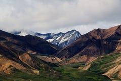Cordillera en el Mt Parque nacional de Denali Fotos de archivo