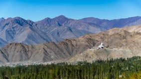 Cordillera en la India septentrional Imágenes de archivo libres de regalías