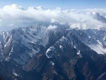Cordillera hermosa en la India Fotos de archivo