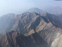 Cordillera hermosa en la India Foto de archivo libre de regalías