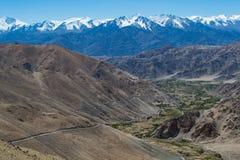 Cordillera la India septentrional Imagenes de archivo