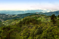 Cordillera Mountains of Baguio Philippines Stock Images