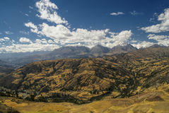 Cordillera Negra in Peru Royalty Free Stock Image