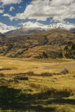 Cordillera Negra in Peru Stock Photo