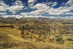 Cordillera Negra in Peru Stock Images