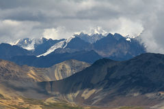 Cordillera Real in Bolivian Andes Stock Image
