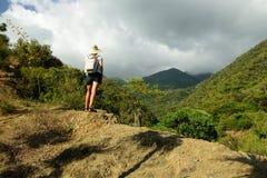 Cordillera Sierra Maestra en Cuba foto de archivo libre de regalías