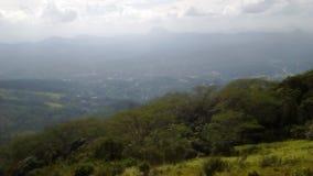 Cordillera Sri Lanka de Hanthana Imagen de archivo libre de regalías