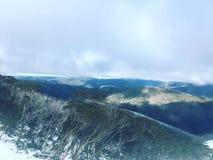 Cordilleras foto de archivo libre de regalías