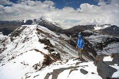 Cordilleras Bolivia Imagen de archivo libre de regalías