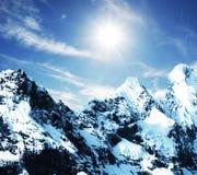 cordilleras górskie Fotografia Stock