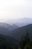 Cordilleras, los Cárpatos Imagen de archivo libre de regalías
