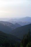 Cordilleras, los Cárpatos Fotografía de archivo