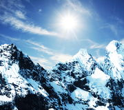 Cordilleras mountain Stock Photography