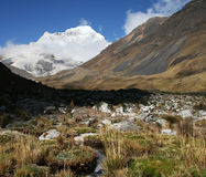 Cordilleras mountains Royalty Free Stock Images