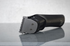 Cordless black electric razor Stock Photography