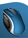 Cordless computer mouse Stock Image