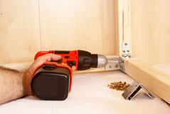 Cordless drill Stock Images