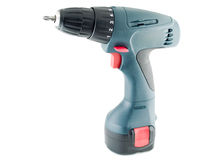 Cordless drill Stock Image