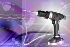 Cordless drill Royalty Free Stock Image