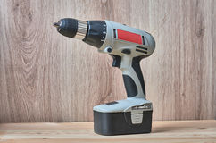 Cordless Drill Driver Royalty Free Stock Photo