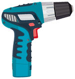 Cordless Drill electric work tool. Illustration Stock Photography