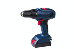 Cordless drill Royalty Free Stock Photos