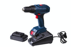 Cordless drill Royalty Free Stock Image