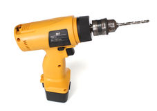 Cordless drill machine Stock Photo