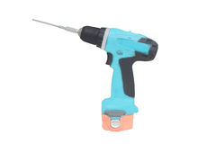 Cordless drill Royalty Free Stock Images
