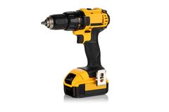 Cordless driver drill Royalty Free Stock Images