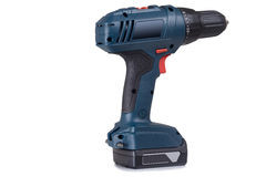 Cordless driver drill Stock Photography