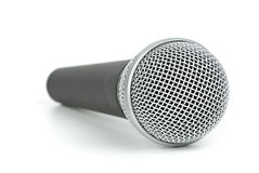 Cordless dynamic microphone Stock Image