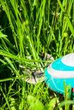 Cordless grass shears Royalty Free Stock Photo