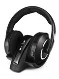 Cordless headphones. With wireless or bluetooth Royalty Free Stock Photos