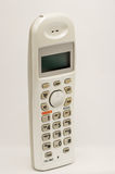 Cordless home phone. Isolate on white background Stock Images