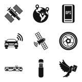 Cordless icons set, simple style. Cordless icons set. Simple set of 9 cordless vector icons for web isolated on white background Stock Images