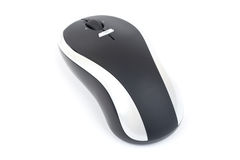Cordless Laser mouse. Royalty Free Stock Photos