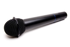 Cordless microphone Royalty Free Stock Photography