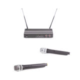 Cordless microphone Royalty Free Stock Photo