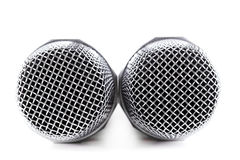 Cordless microphone Stock Images