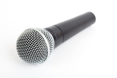 Cordless microphone isolated. Royalty Free Stock Images