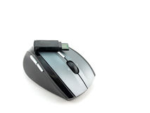 Cordless mouse Royalty Free Stock Image