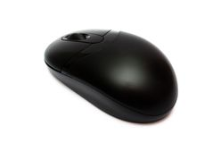 Cordless optical mouse Royalty Free Stock Photography