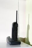 Cordless Phone #1. Cordless Phone in base station, with shadow Royalty Free Stock Photo