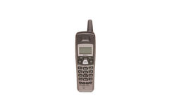 Cordless Phone. Isolated image of a cordless telephone on white Stock Image